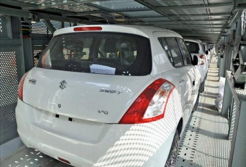 Maruti will use railways to transport cars quicker