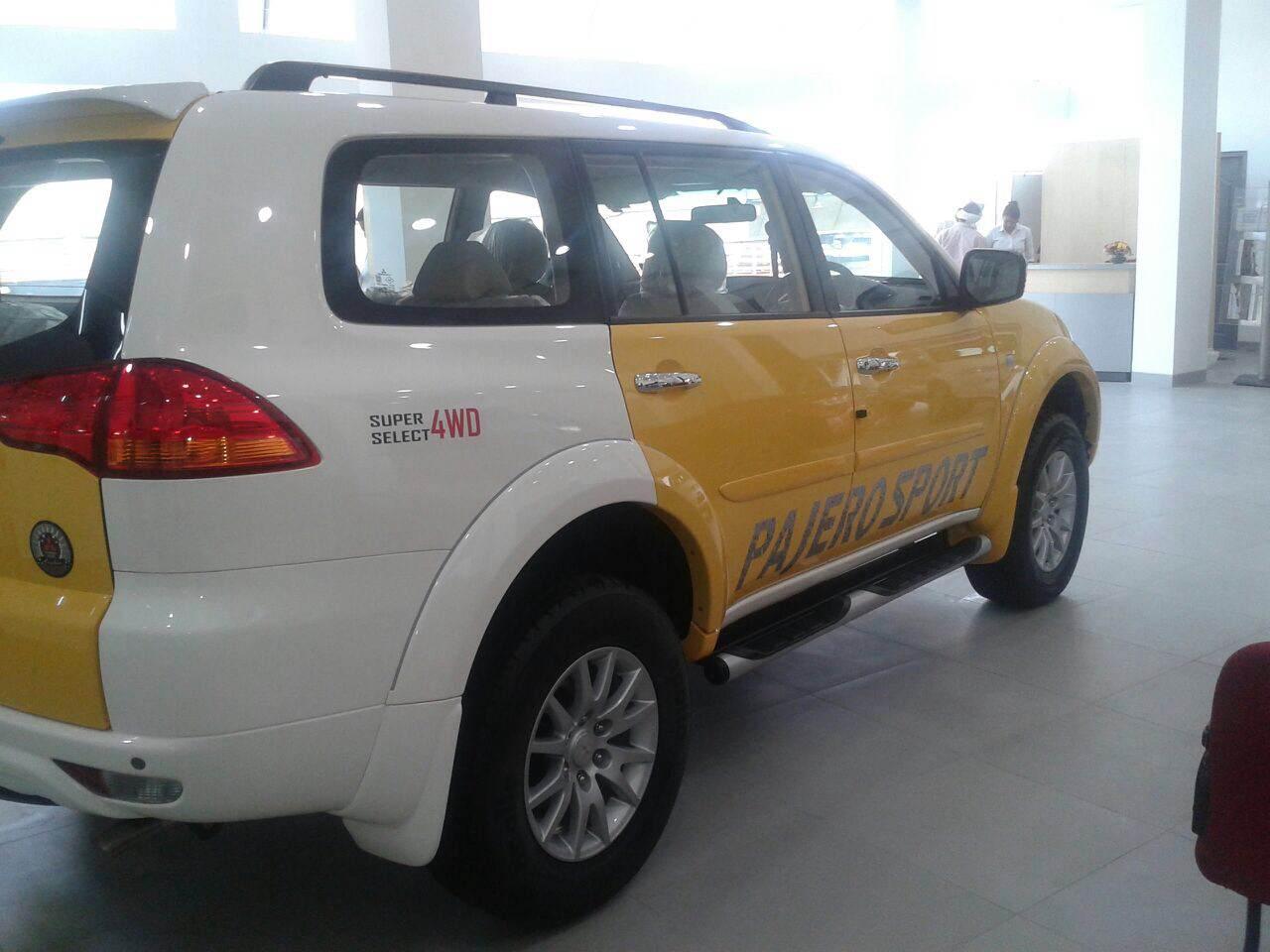 Mitsubishi Pajero Sport now in dual tone colours
