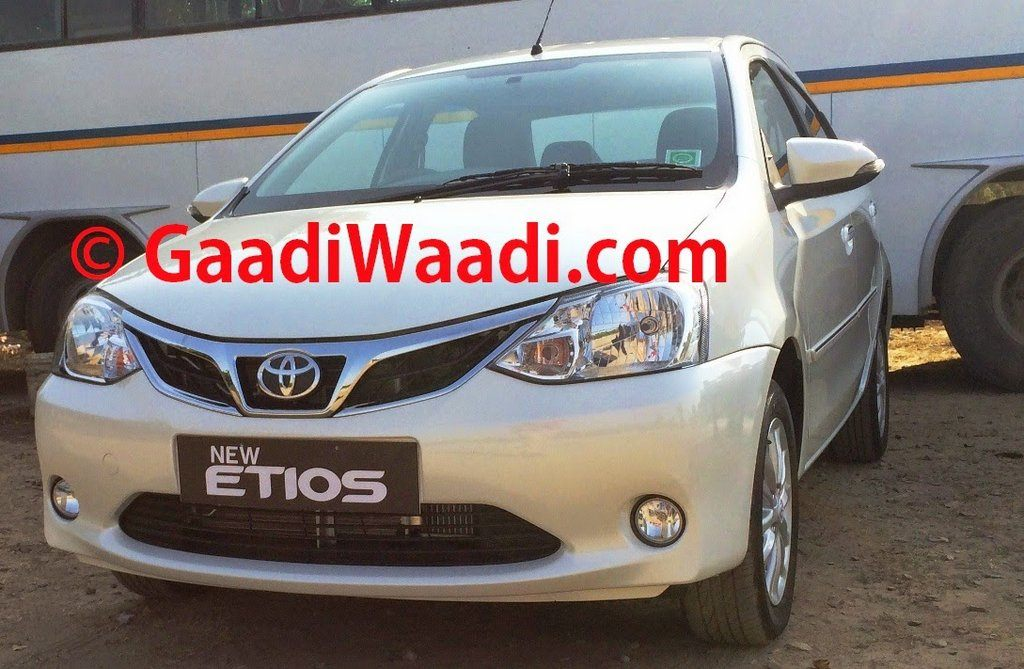 Toyota Etios and Liva facelift spotted
