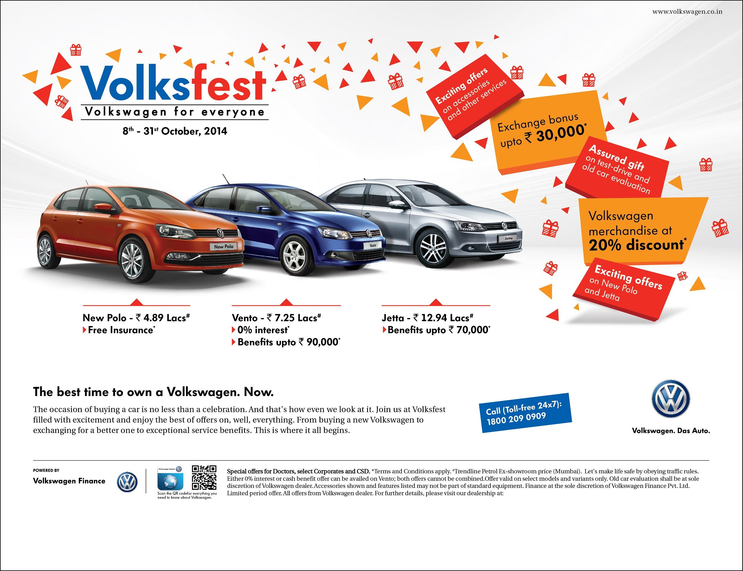 Volkswagen launches Volksfest 2014