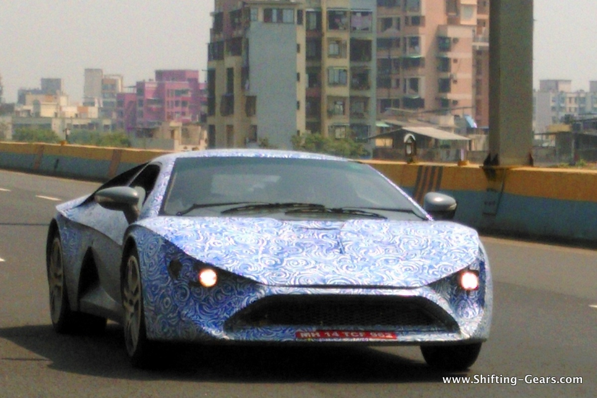 DC Avanti spotted testing