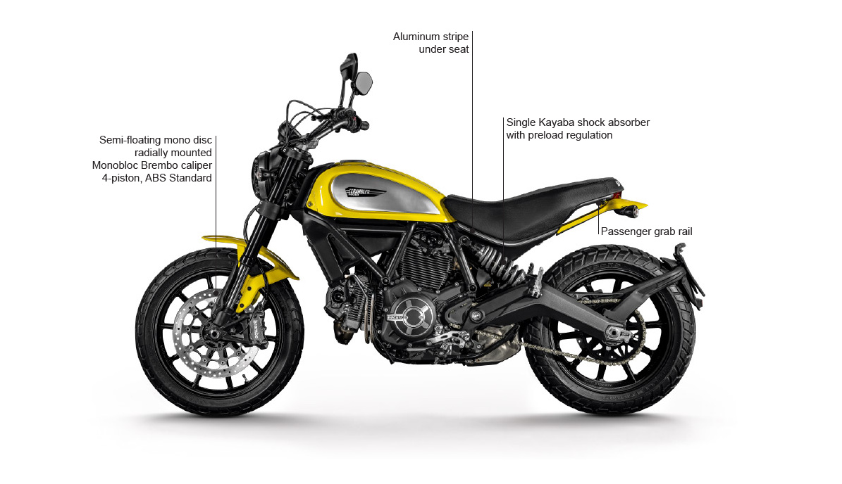 Ducati will launch the Scrambler in India next year