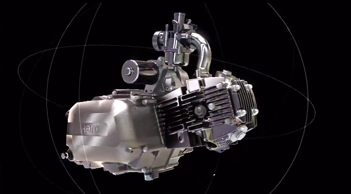 Hero MotoCorp updates 100cc engines