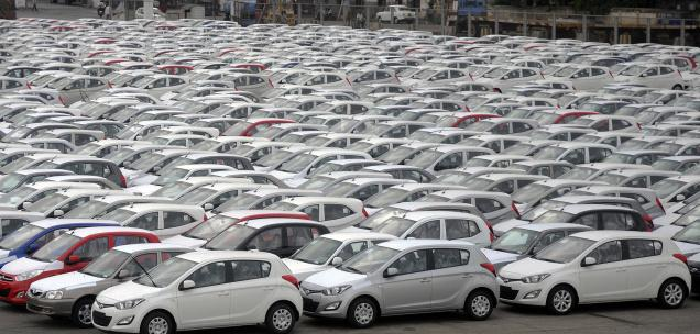 Car exports from India declining