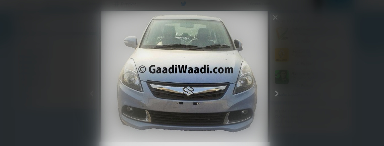 Maruti Suzuki Dzire facelift caught undisguised