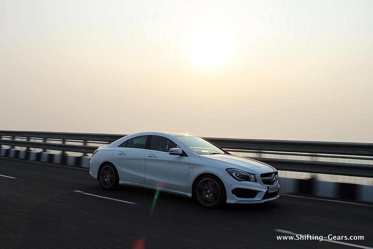 Mercedes-Benz CLA45AMG photo gallery