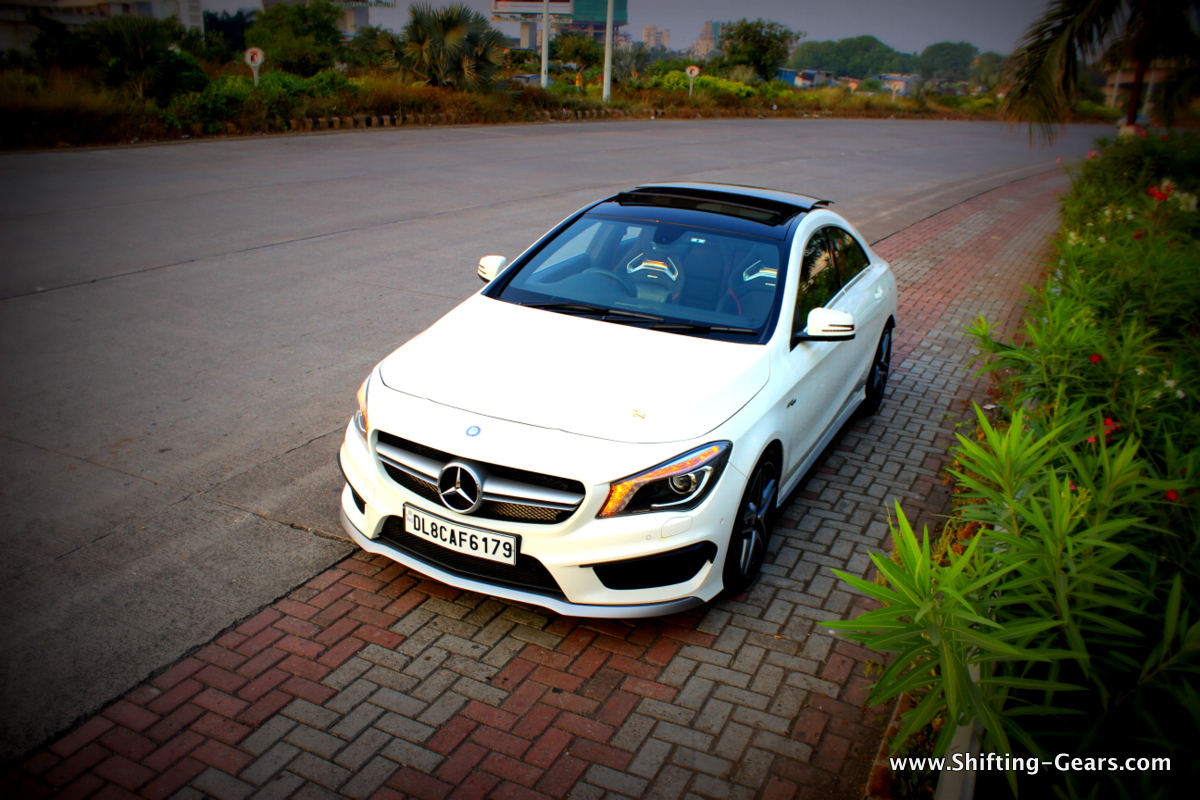 Mercedes-Benz CLA45 AMG: Reviewed