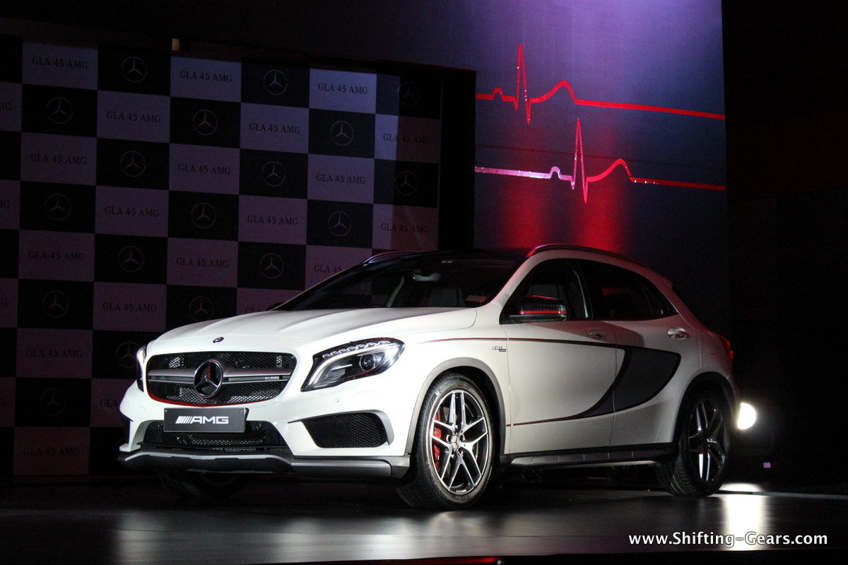 Mercedes-Benz GLA45 AMG 4MATIC launched at Rs. 69.60 lakh