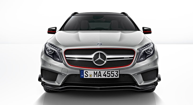Mercedes GLA 45 AMG launching on October 27