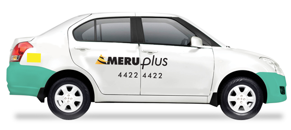 Meru Cabs App with Cab Wallet