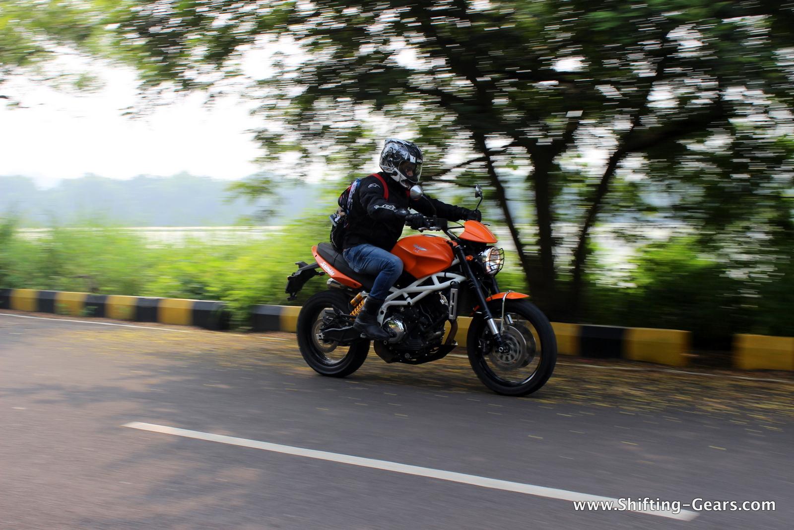 Bikes brought to India via the CBU route