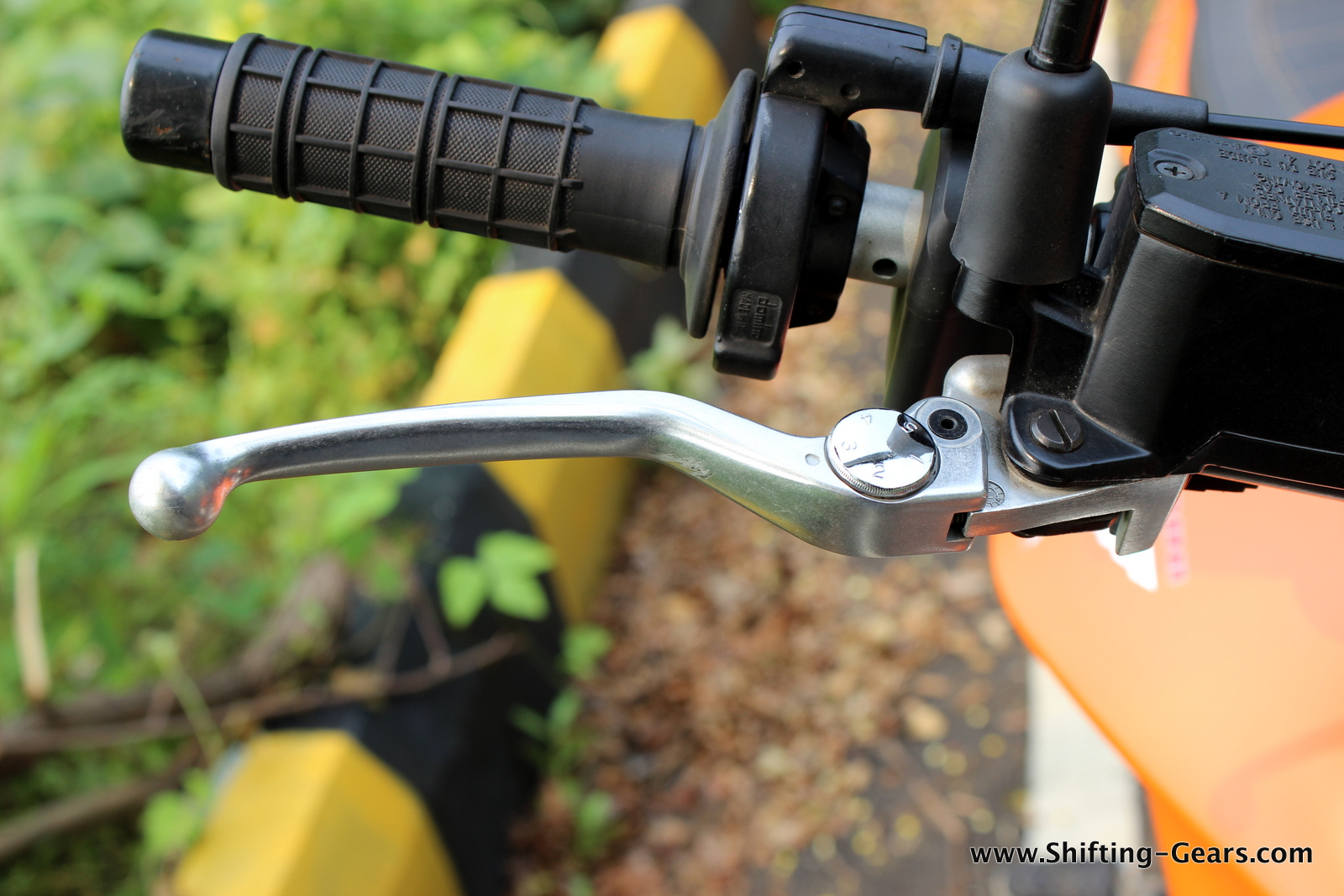Adjustable, forged front brake and clutch levers