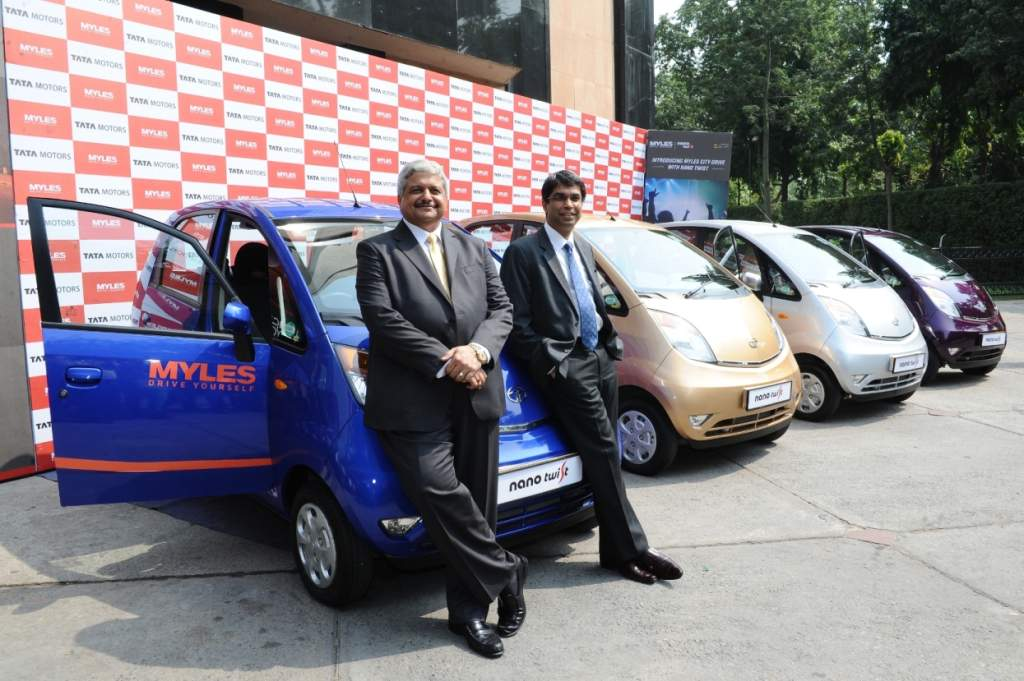 Carzonrent & Tata Motors to introduce Myles-City Drive