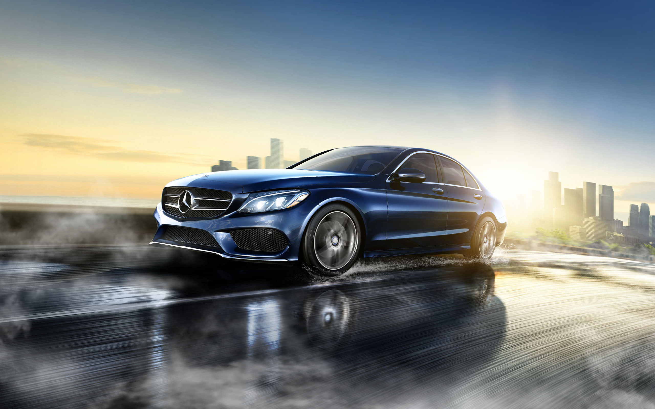 Mercedes benz launched the new c class at rs lakh for The latest mercedes benz