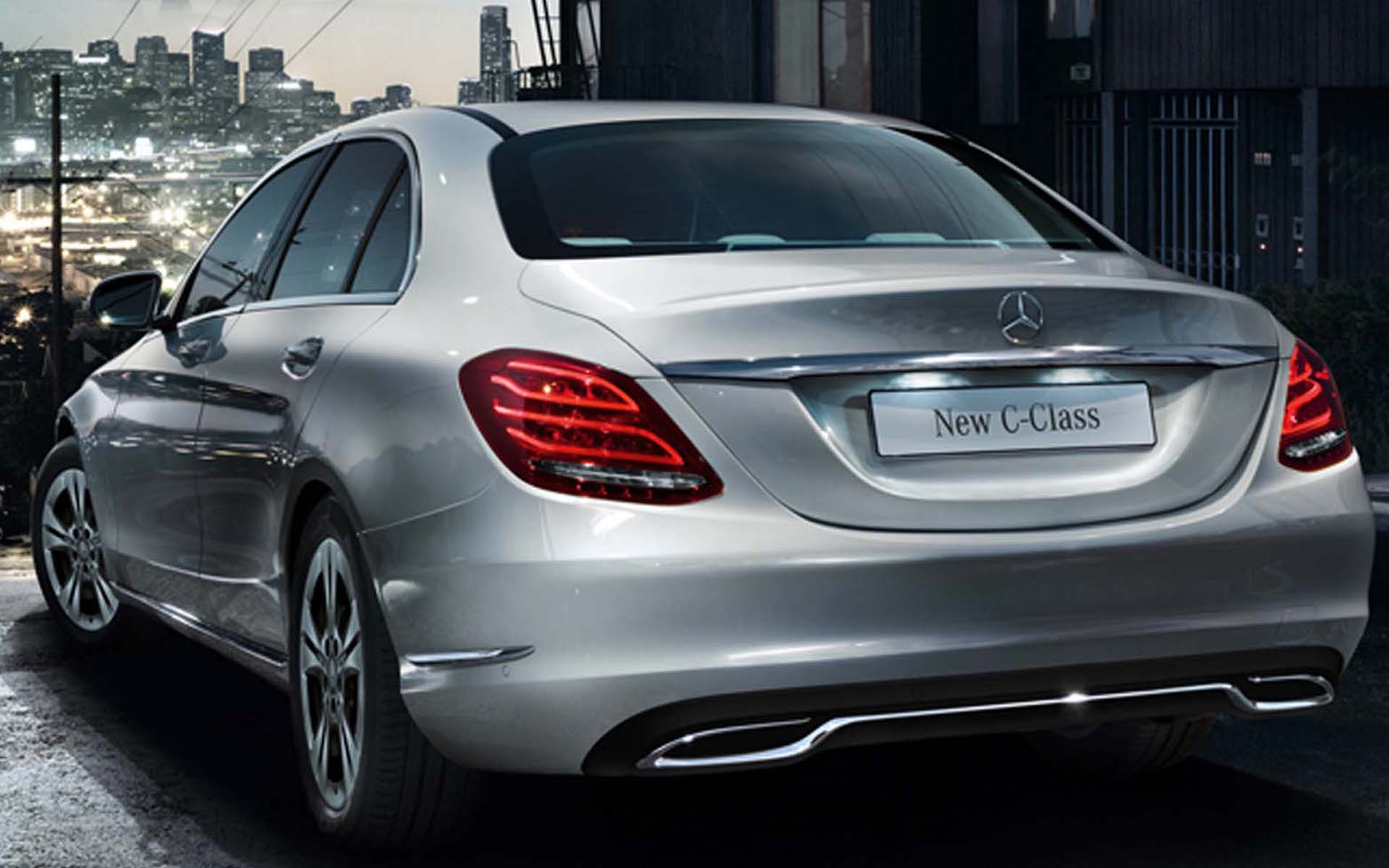 mercedes benz launched the new c class at rs lakh shifting gears. Black Bedroom Furniture Sets. Home Design Ideas