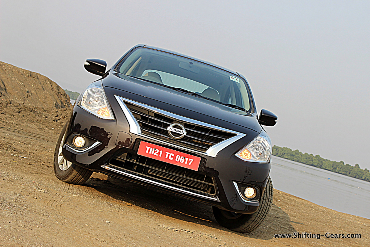 2014 Nissan Sunny Facelift photo gallery