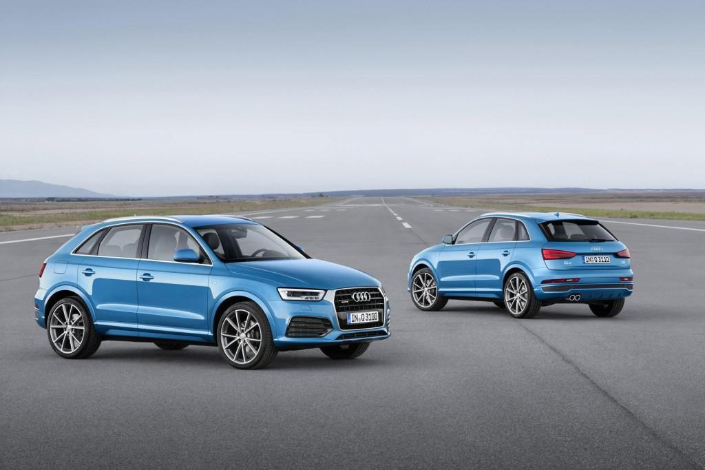 Audi reveals Q3 facelift, deliveries post January 2015