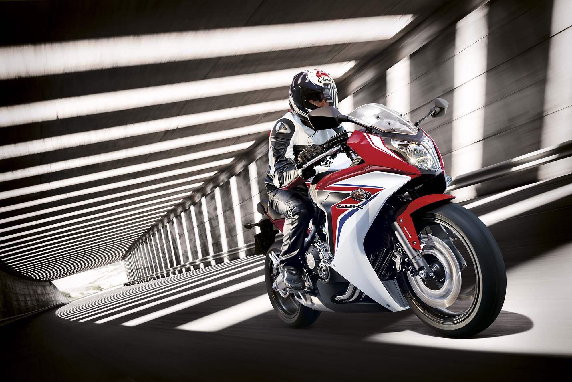 Honda CBR650F by March 2015