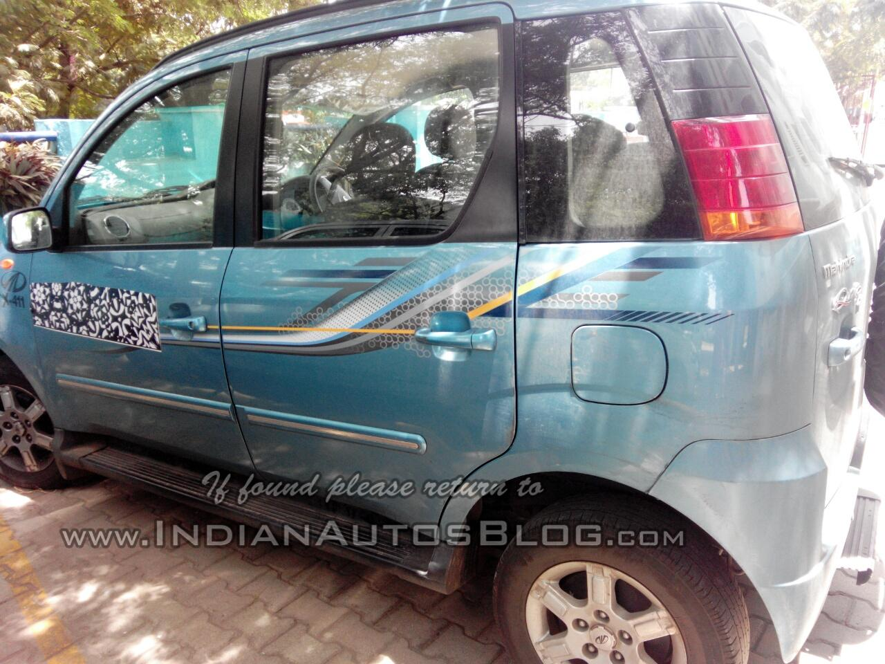 Mahindra Quanto AMT spotted testing