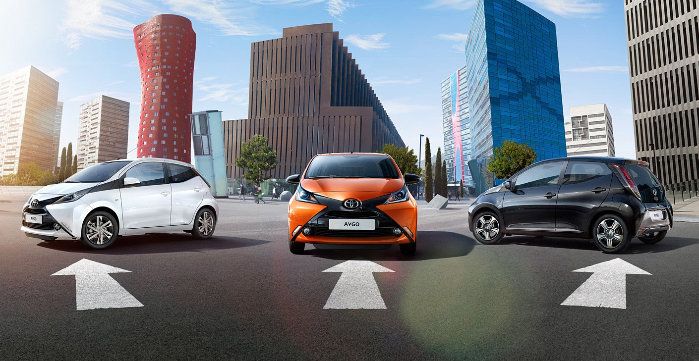 Toyota Aygo imported for R&D in India