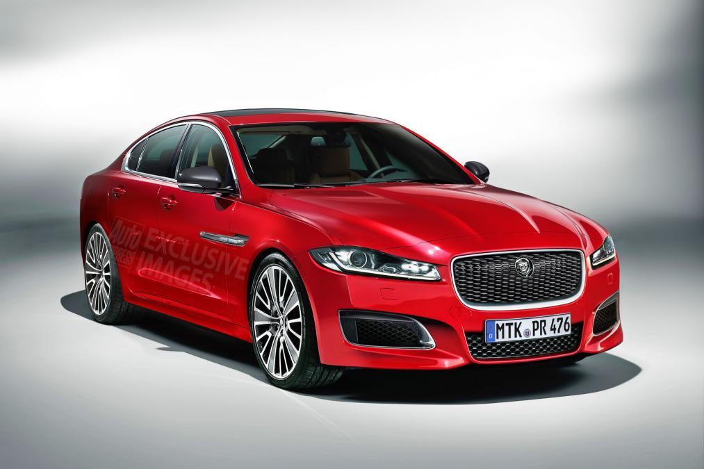 2016 Jaguar XF will be bigger, but lighter