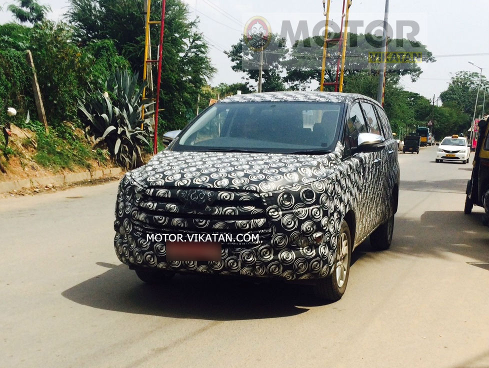 Next-generation Toyota Innova: More details
