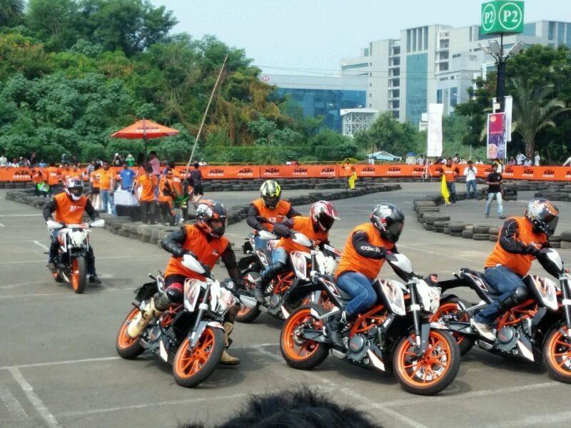 Mumbai: KTM Orange Day on November 15