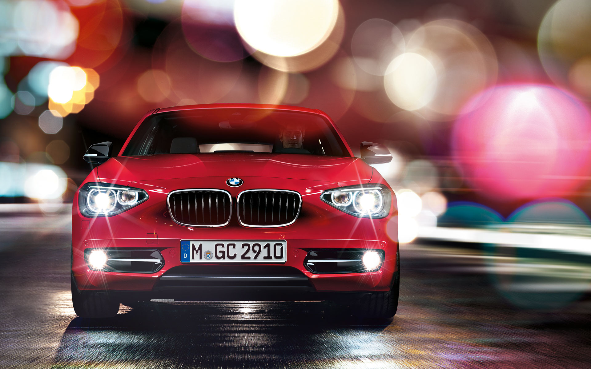 Drive home a BMW 1 Series for Rs. 555 / day
