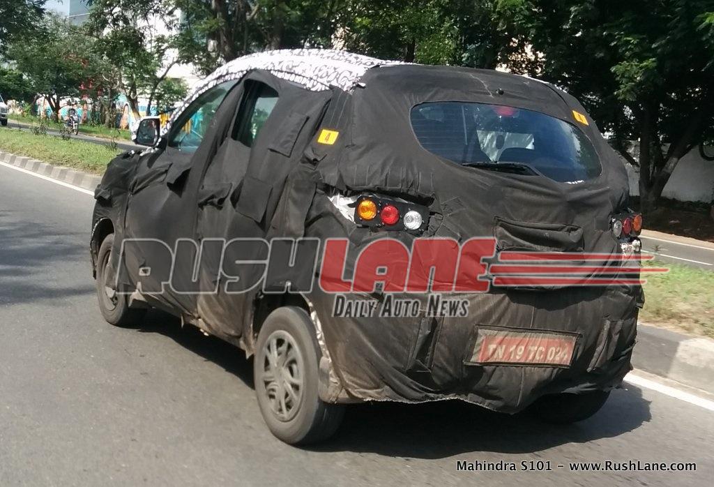 Mahindra S101 could be priced at Rs. 3.99 lakh