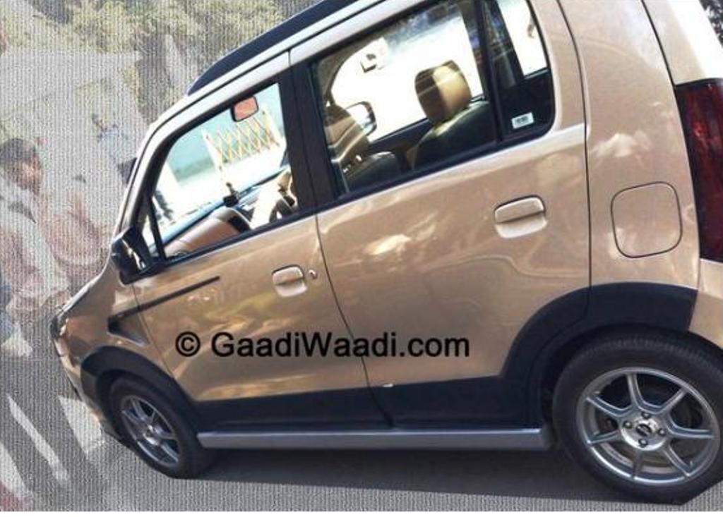 Maruti-Wagon-R-XRest-Edition-Spied-Black-Cladding