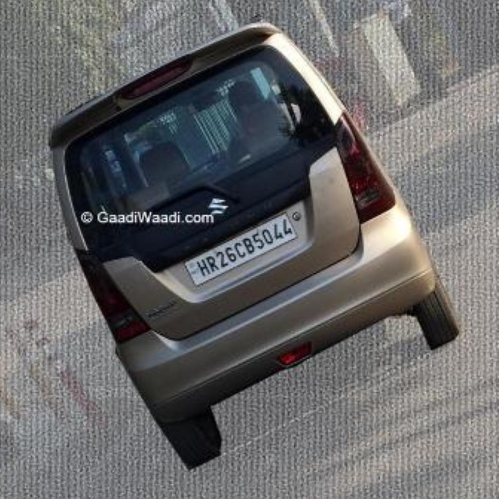 Maruti-Wagon-R-XRest-Edition-Spied-Rear