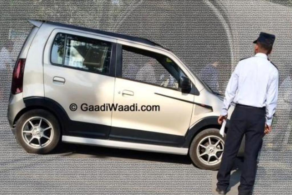 Maruti WagonR XRest edition spotted