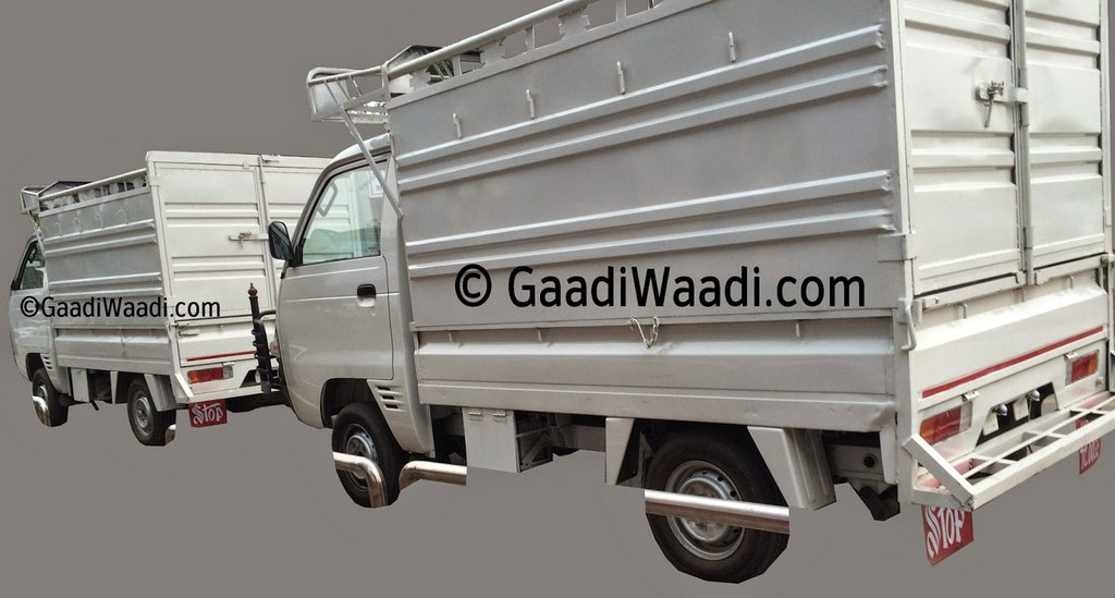 Maruti Y9T LCV spotted with full size deck