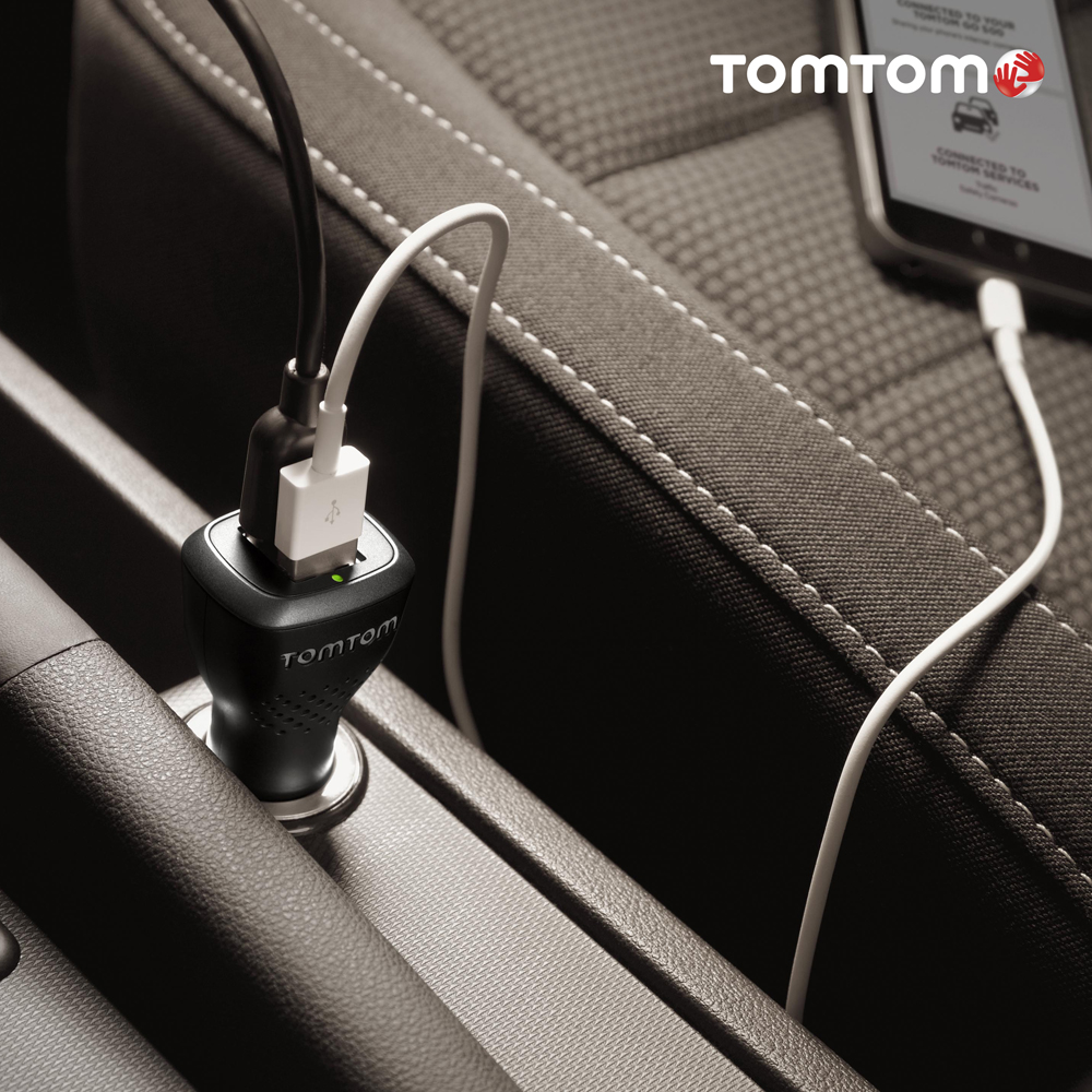 TomTom launches high-speed dual charger at Rs. 1,490