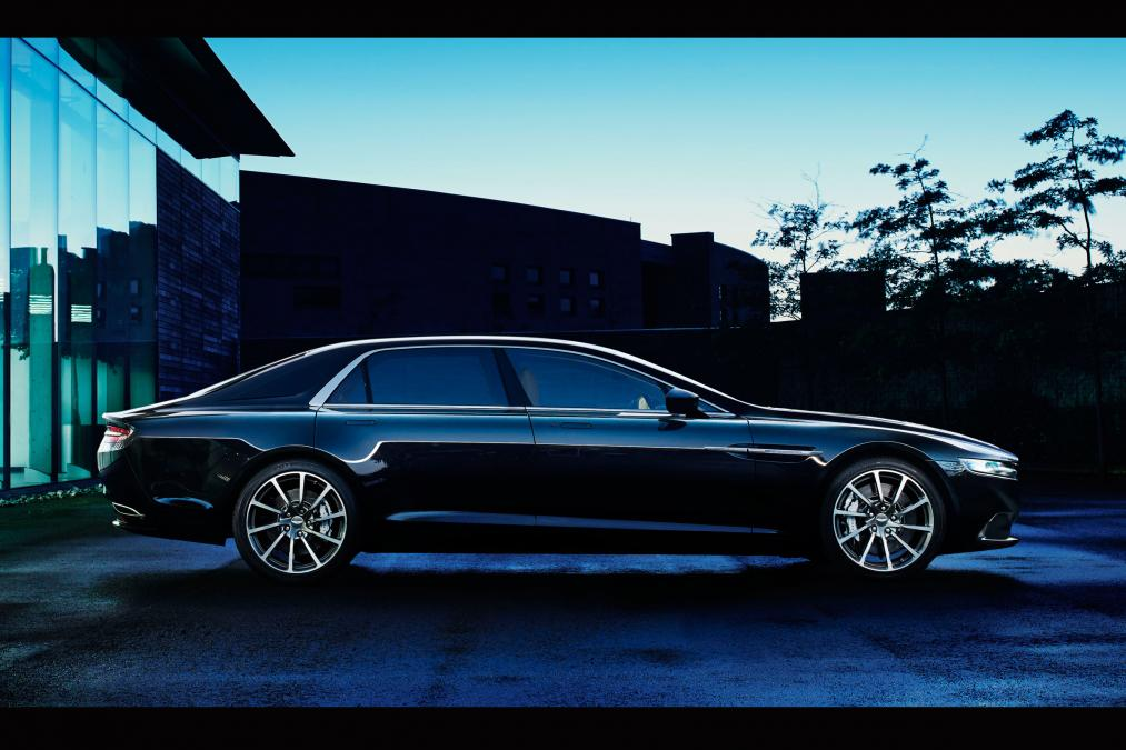 Aston Martin Lagonda revealed