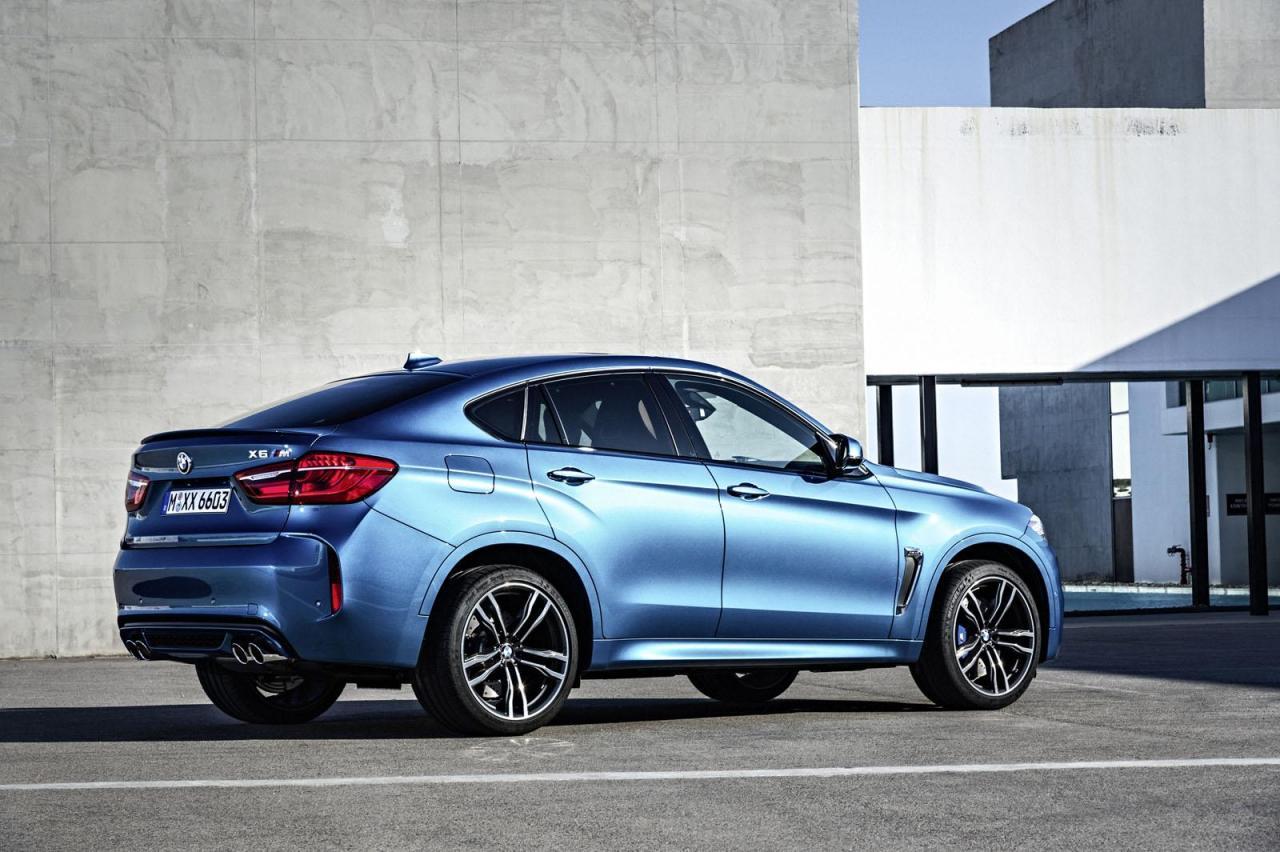 2015 BMW X5 M & X6 M revealed