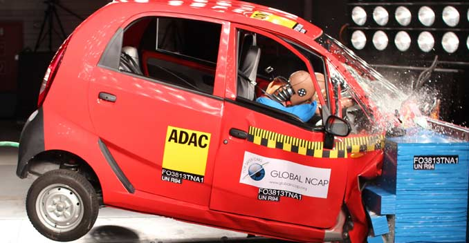 56 kmph crash tests for India