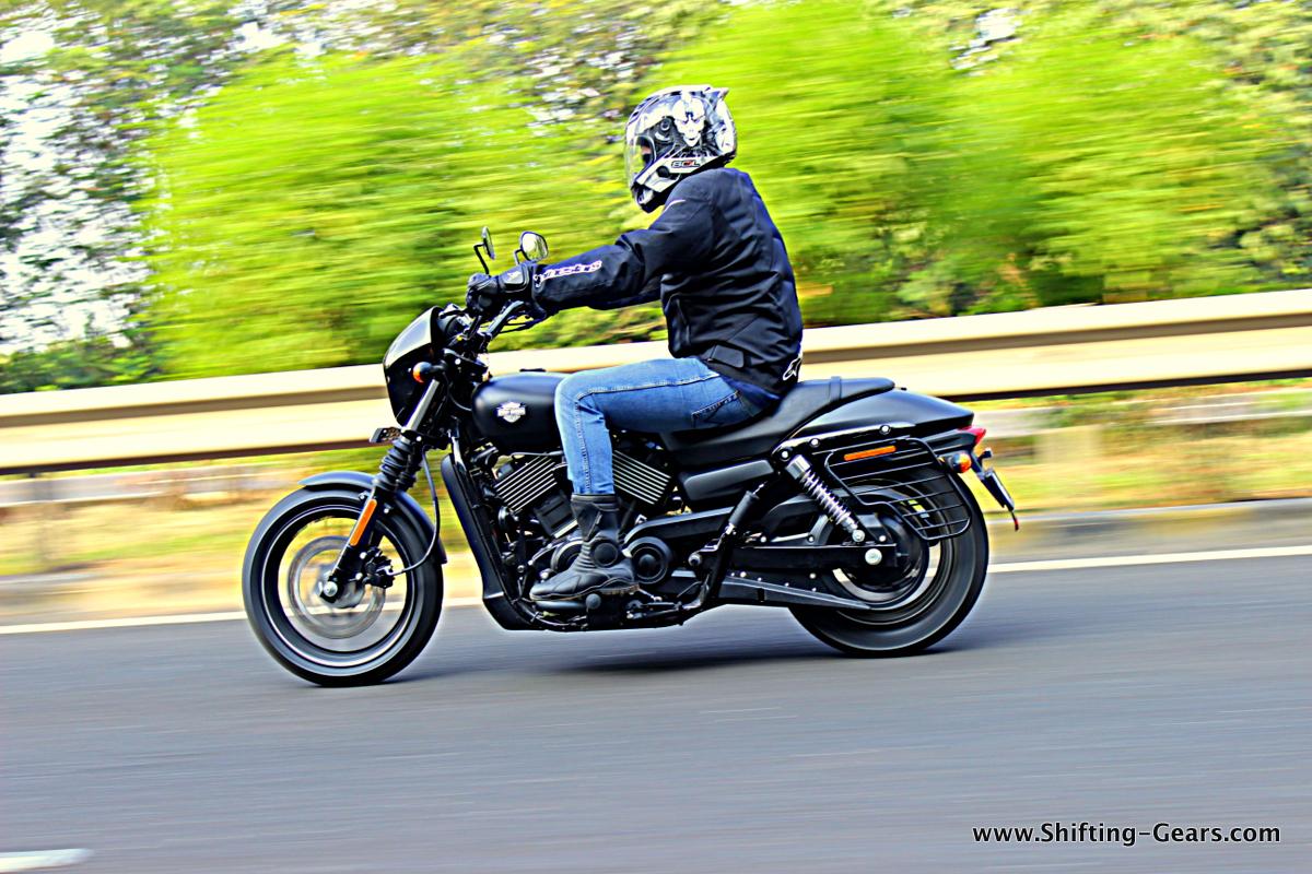Harley Davidson: Harley-Davidson Street 750: Ride Report