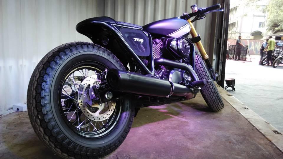 Rajputana Customs modifies the Harley-Davidson Street 750