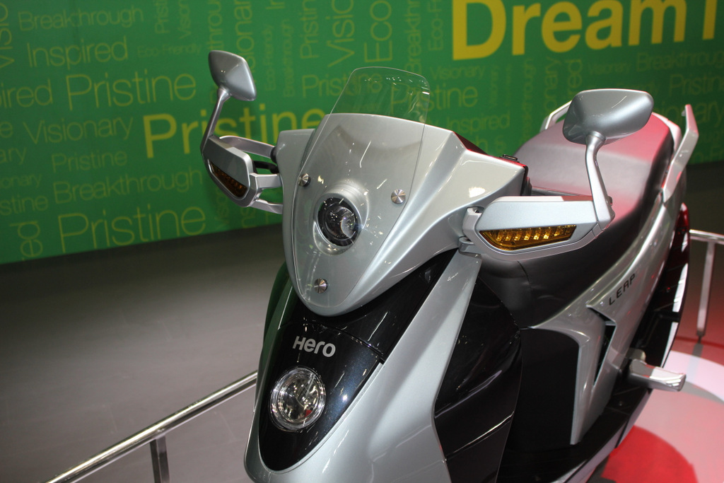 Hero Leap hybrid scooter coming in 2015