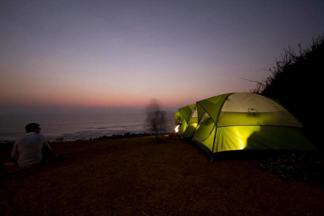 2015 India Bike Week will offer camp & tents at hilltop