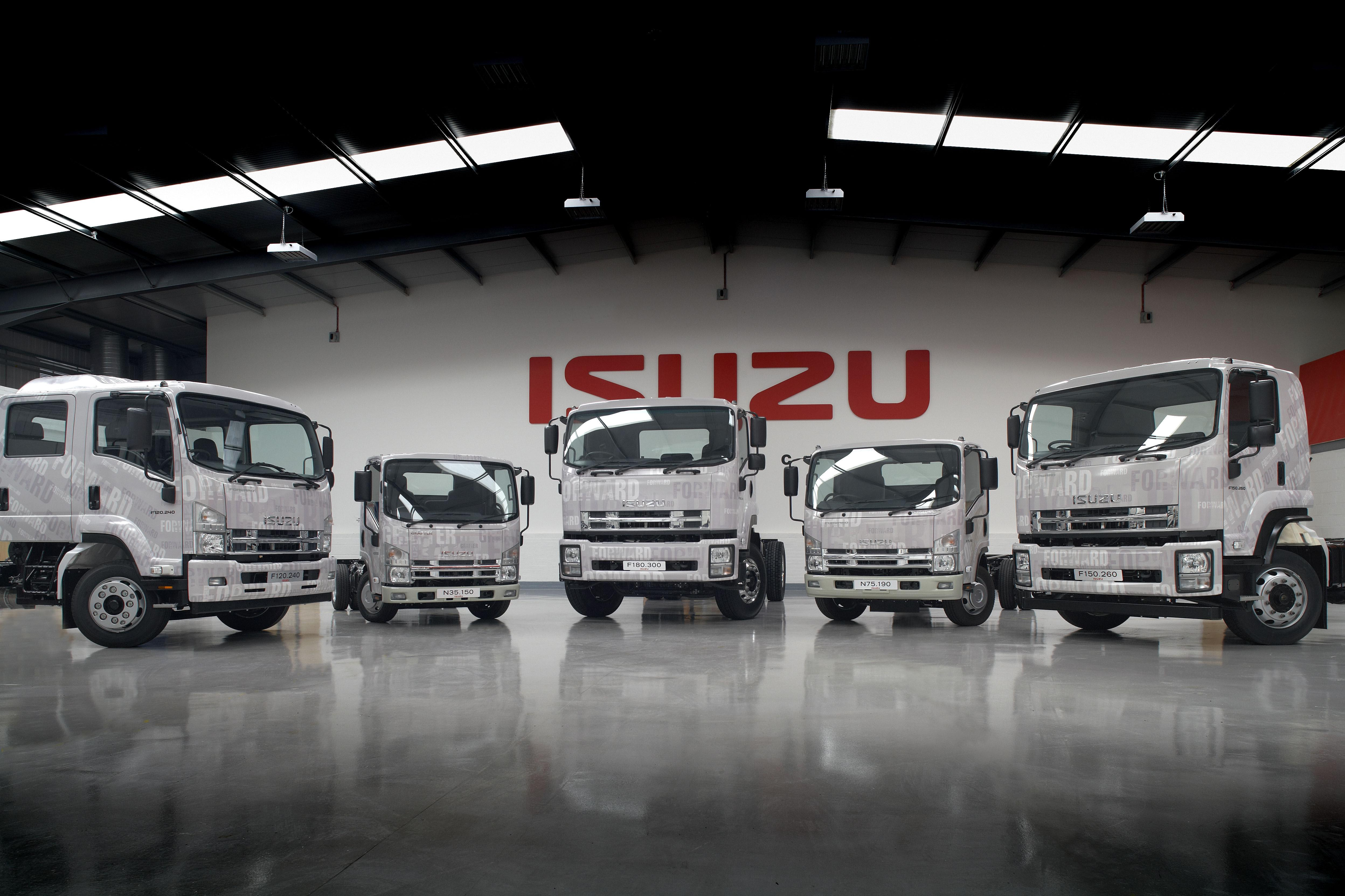 Isuzu To Set Up Truck Manufacturing Plant In Andhra
