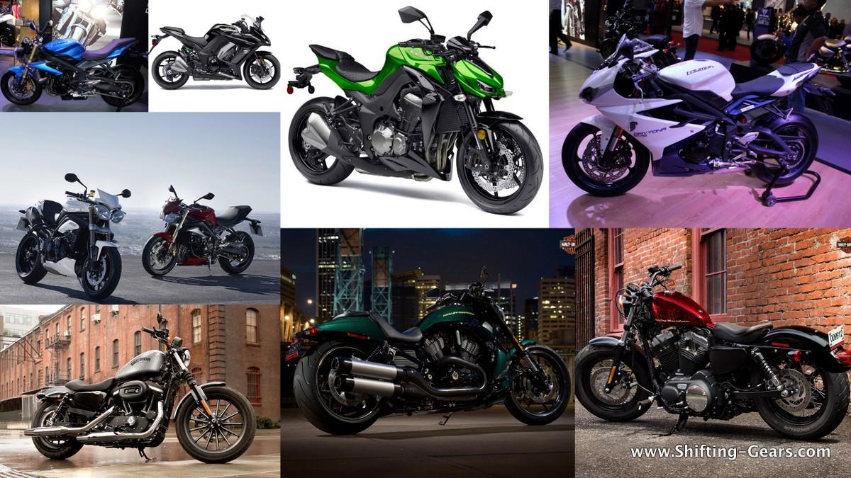 Harley outsells Kawasaki & Triumph in October '14