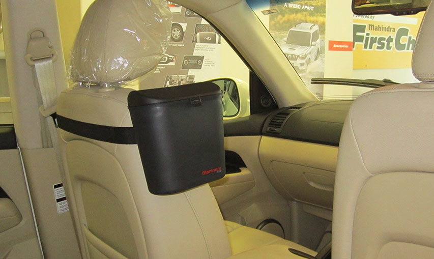 In-car dust bin by Mahindra to support 'Swachh Bharat' campaign