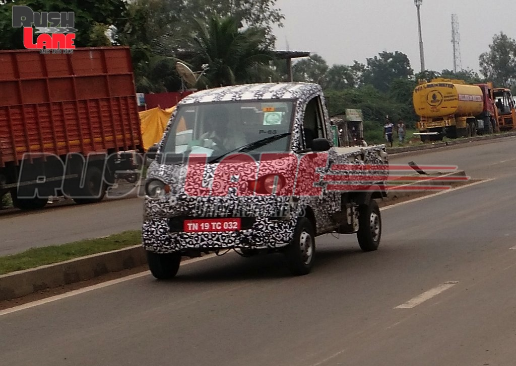 Mahindra P601 LCV spied testing