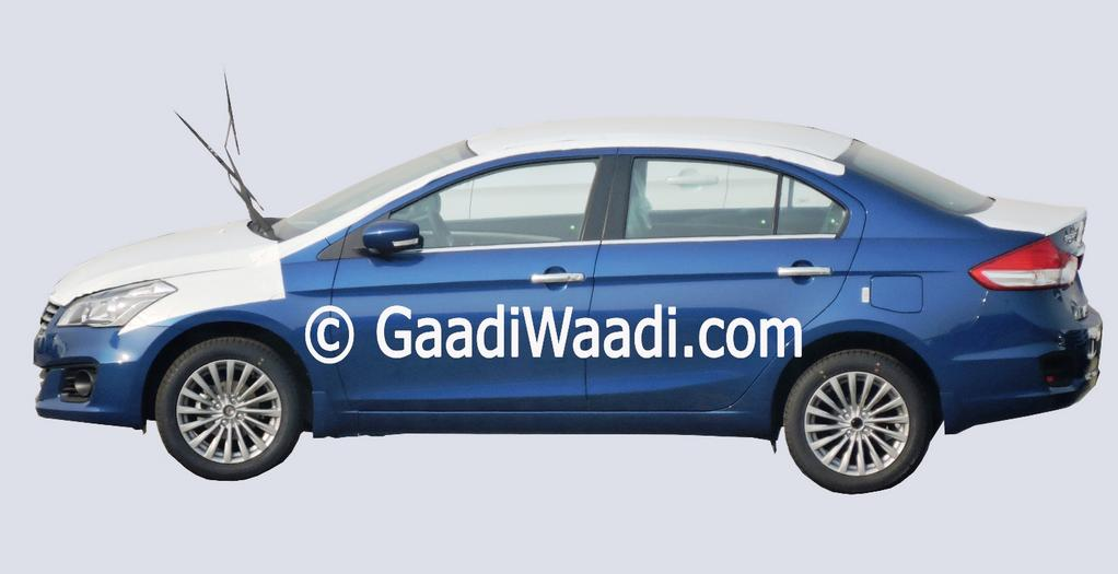 New blue shade for the Maruti Ciaz