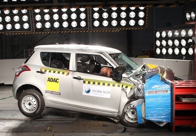 Maruti Swift fails NCAP crash test