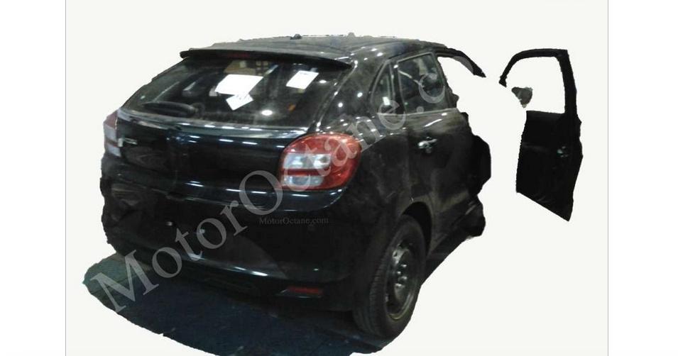 Maruti Suzuki YRA interior spyshots