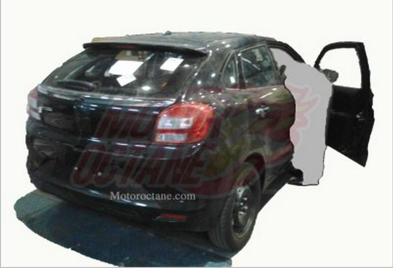 Maruti Suzuki YRA hatchback caught undisguised