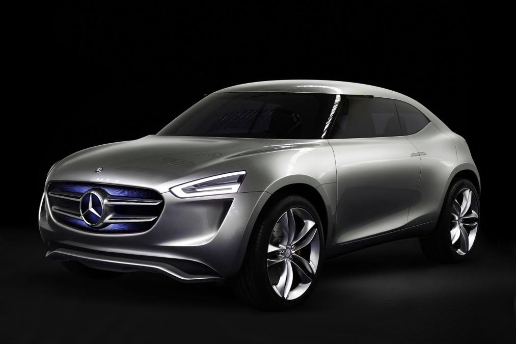 Mercedes-Benz G-Code crossover concept revealed
